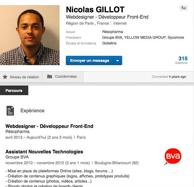 analyse profil sourcing recrutement
