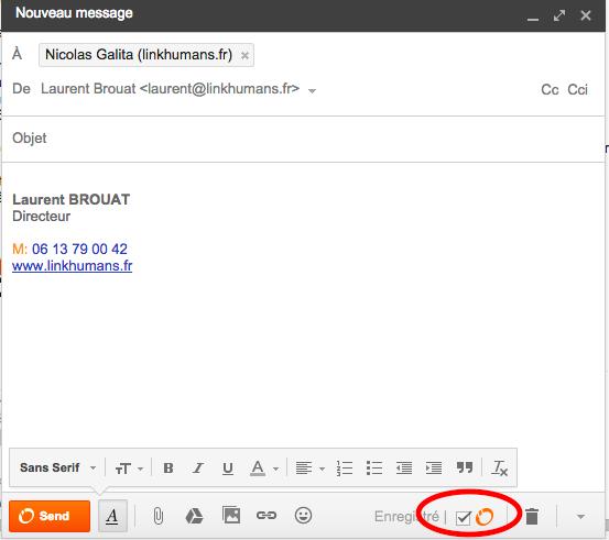 sidekick suivi emails