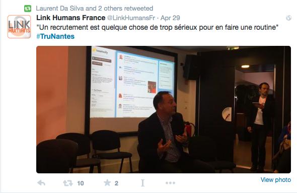 #TruNantes conference non recrutement