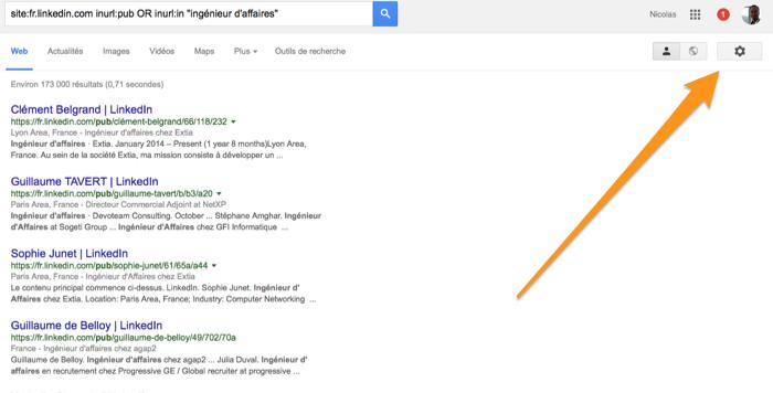 ParametreGoogleSearch