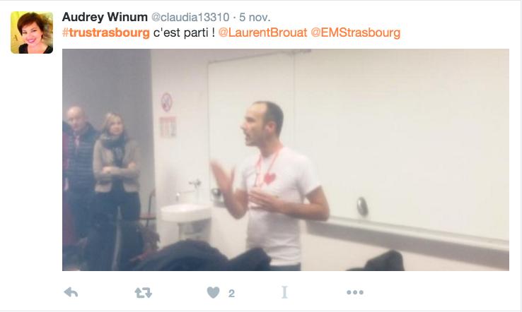 #TruStrasbourg non conference recrutement