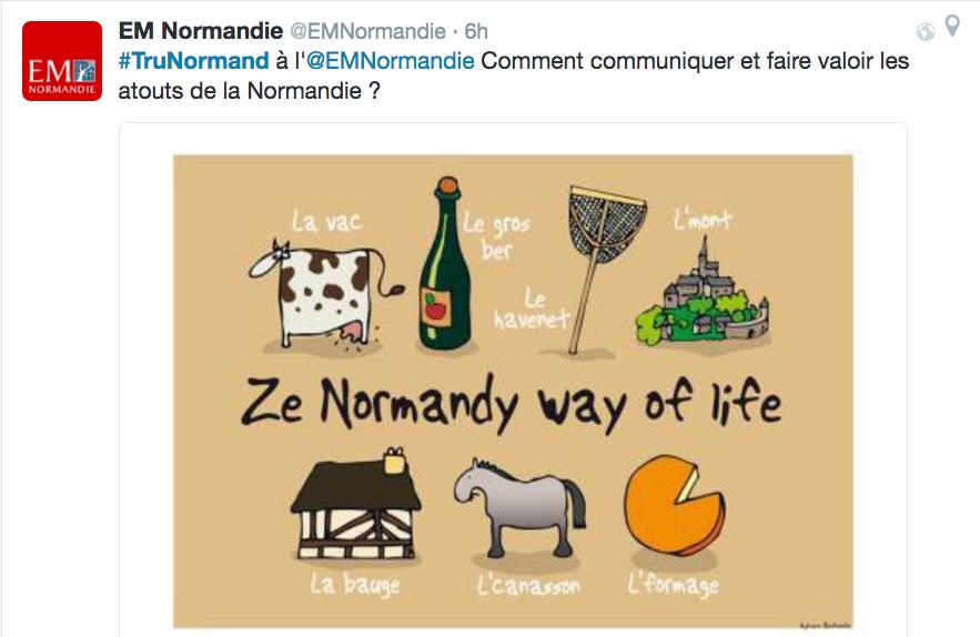 Normandie #TruNormand recrutement