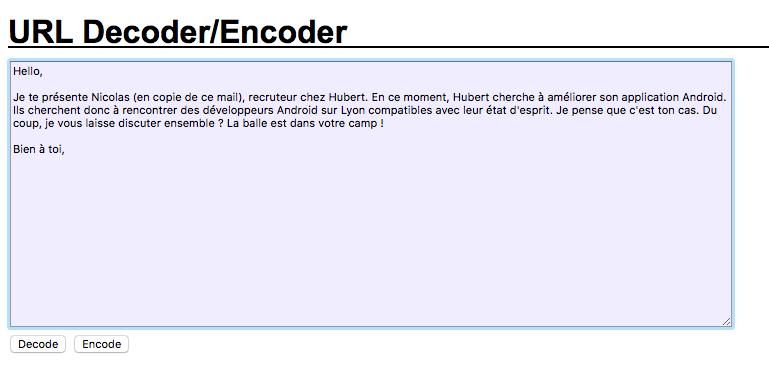 Texte-a-encoder