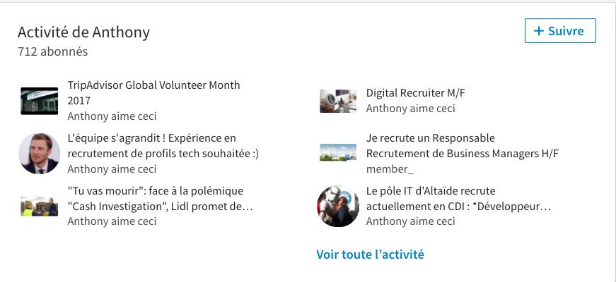 experience recrutement profils tech